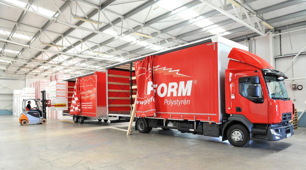 Expandovaný polystyrén vyrábaný spoločnosťou POLYFORM má EPD